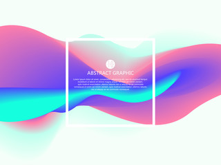 Abstract light, vector graphic design.
