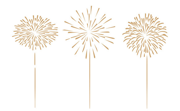 Wunderkerze Feuerwerk Silvester Jubiläum