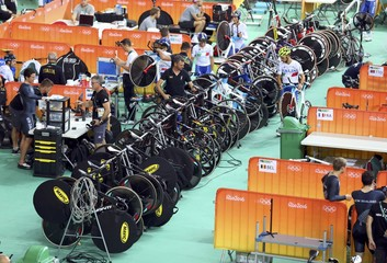 Cycling Track - Team training