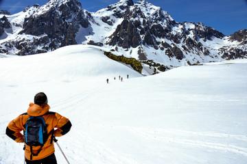 randonnée raquettes Alpes