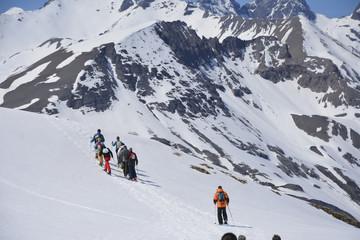 randonnée raquettes montagne