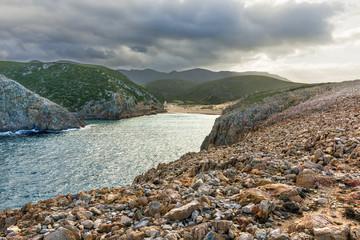 Spiaggia di Cala Domestica, Sardegna