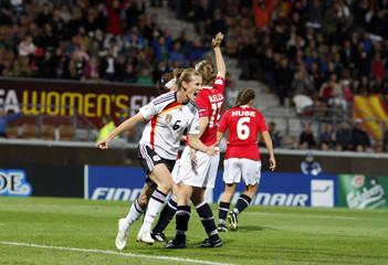 Germany v Norway UEFA Women's European Championship Semi Final Finland 2009