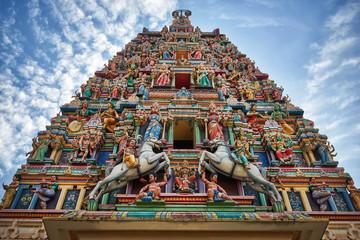 Photo sur Aluminium Edifice religieux Sri Mahamariamman hindu temple in Kuala Lumpur