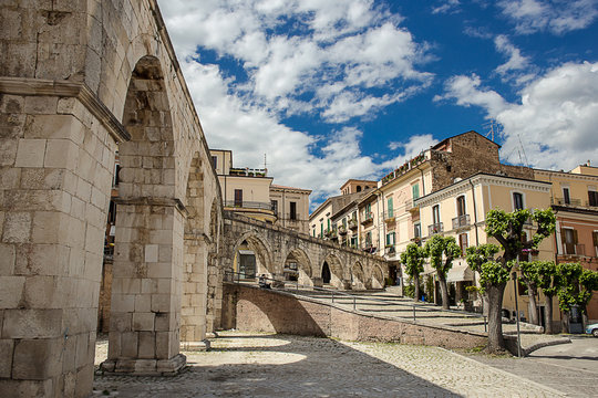 Sulmona historical downtown
