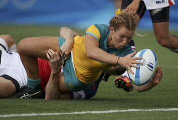 Rugby - Women's Pool A Australia v USA