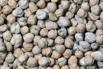 Chickpea seeds (Cicer arietinum)