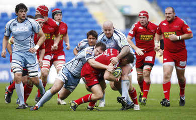 Cardiff Blues v Llanelli Scarlets LV= Cup Pool Stage Matchday Two