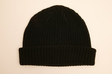 beanie isolated for wintertime