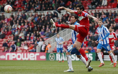 Middlesbrough v Brighton & Hove Albion - npower Football League Championship