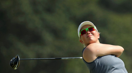 Golf - Women's training