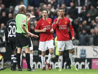 Newcastle United v Manchester United Barclays Premier League