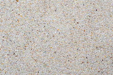 exposed aggregate finish or washed concrete texture