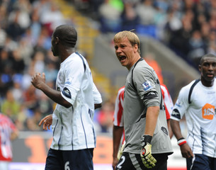 Bolton Wanderers v Stoke City Barclays Premier League