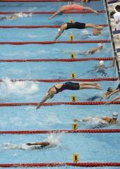 Swimming- European Aquatics Elite Championships- Women's 4x100m freestyle final.