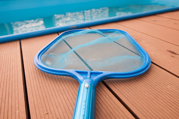 Hand sieves / net for grime / disrt by the pool, maintenance