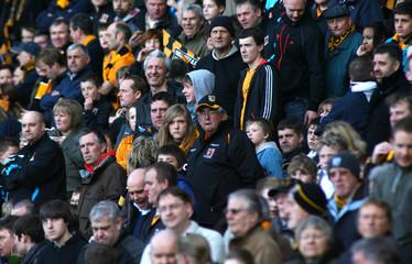 Hull City v Fulham Barclays Premier League