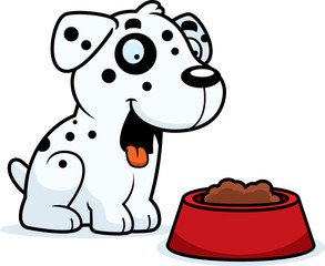 Cartoon Dalmatian Food