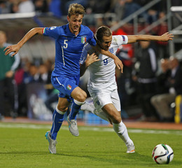 England v Italy - UEFA European Under 21 Championship - Czech Republic 2015 - Group B