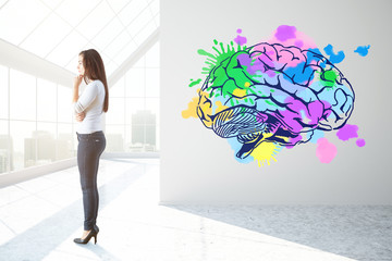 Creative mind concept