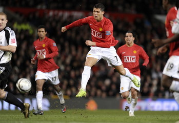 Manchester United v Derby County Carling Cup Semi Final Second Leg