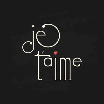 Modern fun calligraphy french text sayings. Vector graphic design elements.
