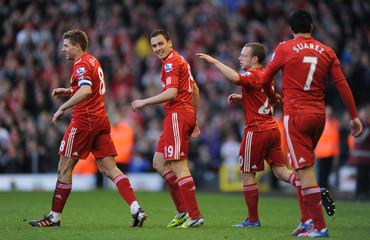 Liverpool v Stoke City FA Cup Quarter Final