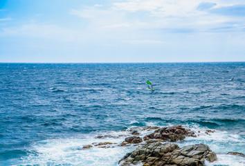 Sea coast in Calella de Palafrugell, Costa Brava, Spain