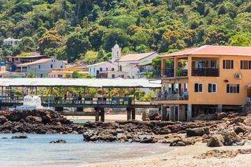 San Pedro village in Taboga island Panama.