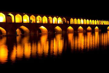 in iran   the old bridge
