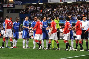 Chelsea v Manchester United UEFA Champions League Quarter Final First Leg