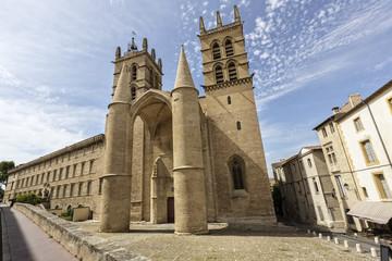 Die Kathedrale in Montpellier, Südfrankreich