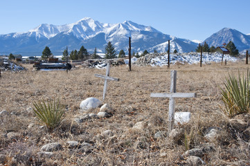 Potter's Field Burial Ground in the Mountains