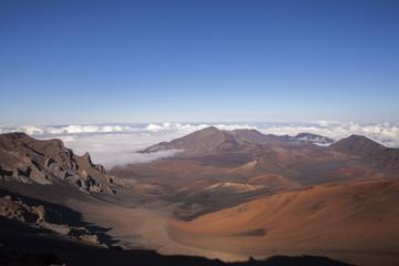 Mount Haleakala Crater on the Island of Maui, Hawaii