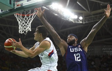 Basketball - Men's Gold Medal Game Serbia v USA