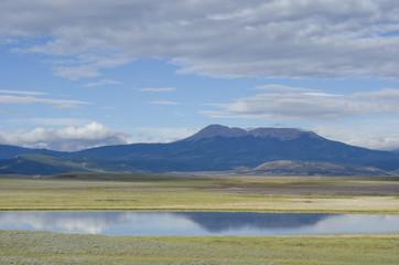 Buffalo Peaks Cloudscape and Reflection