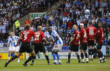 Huddersfield Town v Millwall Coca-Cola Football League One Play Off Semi Final First Leg
