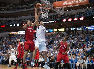 NBA: Toronto Raptors at Dallas Mavericks