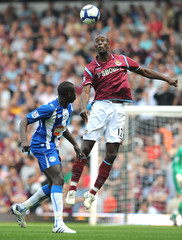 West Ham United v Wigan Athletic Barclays Premier League