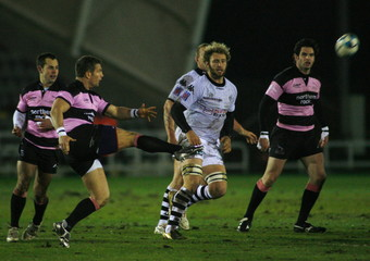Newcastle Falcons v Brive 2008/09 European Challenge Cup Pool Four