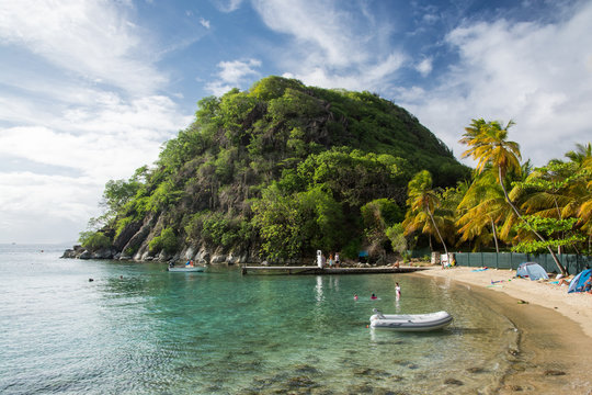 Archipel des Saintes - Guadeloupe - Le pain de sucre