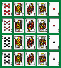 Four poker royal flush