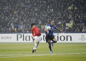 Inter Milan v Manchester United UEFA Champions League Second Round First Leg