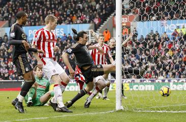 Stoke City v Liverpool Barclays Premier League