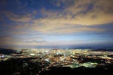 心をいやすソウルの夜景