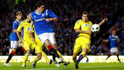 Rangers v NK Maribor UEFA Europa League Play-Off Second Leg