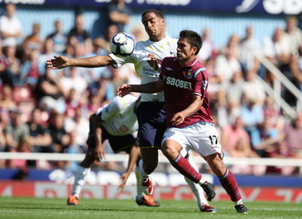 West Ham United v Tottenham Hotspur Barclays Premier League
