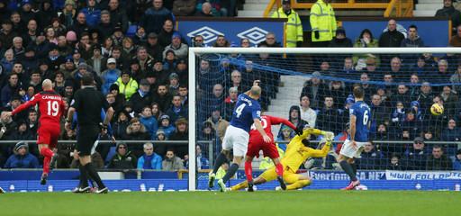 Everton v Leicester City - Barclays Premier League