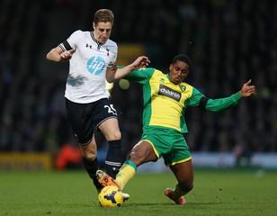 Norwich City v Tottenham Hotspur - Barclays Premier League