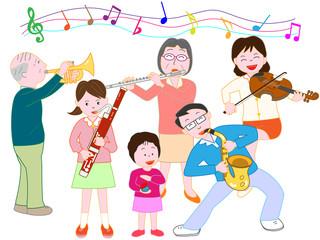 家族で音楽会